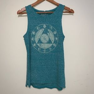 Lucky Brand Vintage Graphic Tank Top